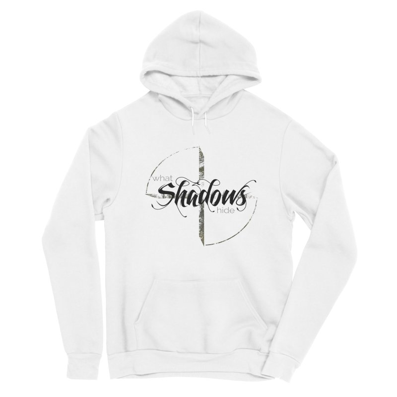 Band Logo Black Men's Pullover Hoody by What Shadows Hide