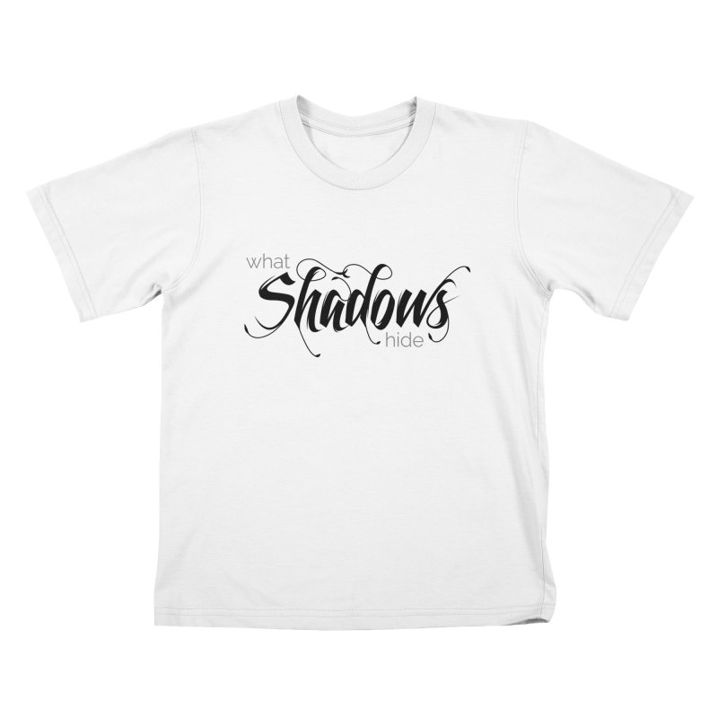 Band Logo Black Kids T-Shirt by What Shadows Hide