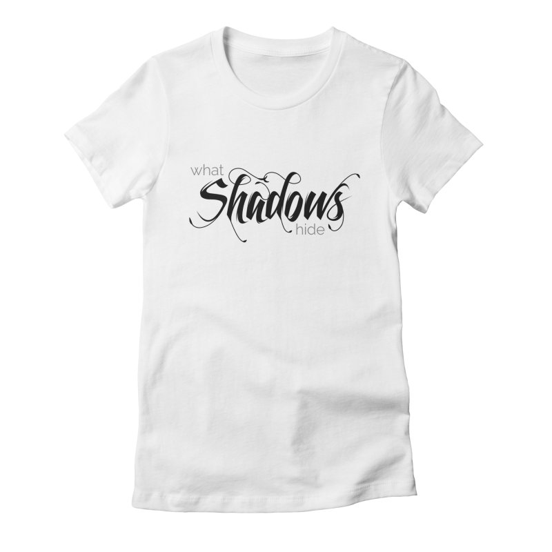 Band Logo Black Women's T-Shirt by What Shadows Hide