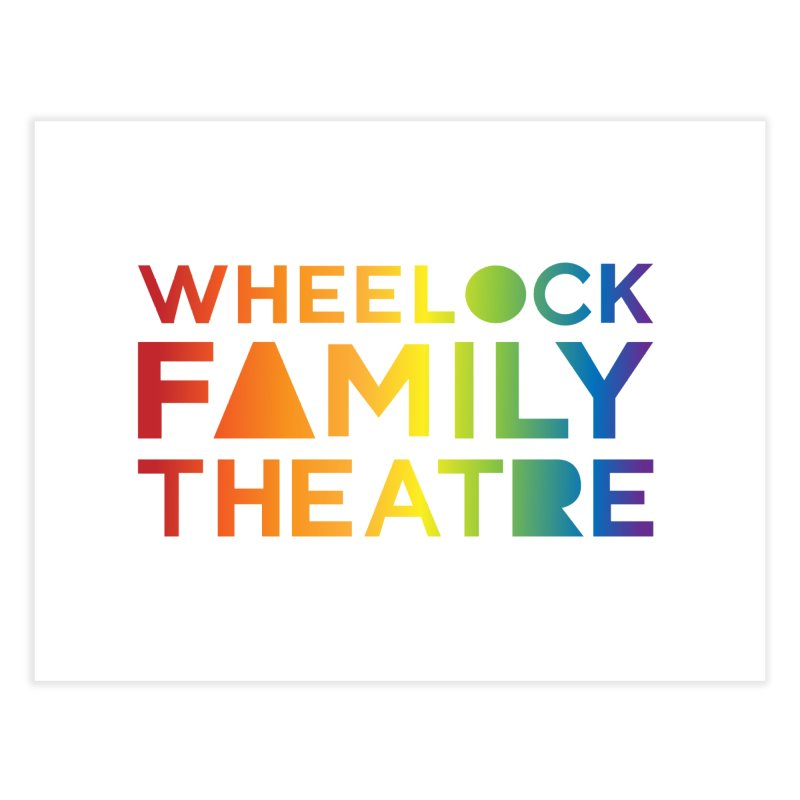 RAINBOW COLLECTION I Home Fine Art Print by Wheelock Family Theatre Merch
