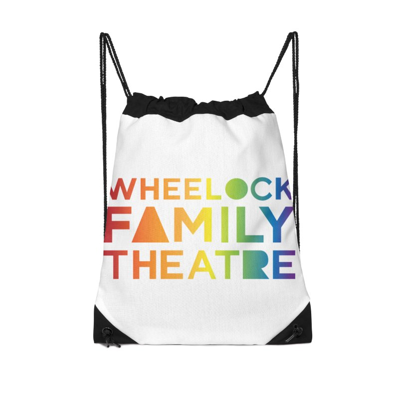 RAINBOW COLLECTION I Accessories Bag by Wheelock Family Theatre Merch