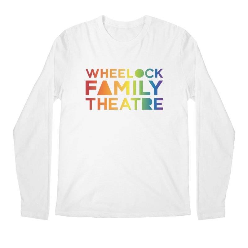 RAINBOW COLLECTION I Men's Longsleeve T-Shirt by Wheelock Family Theatre Merch