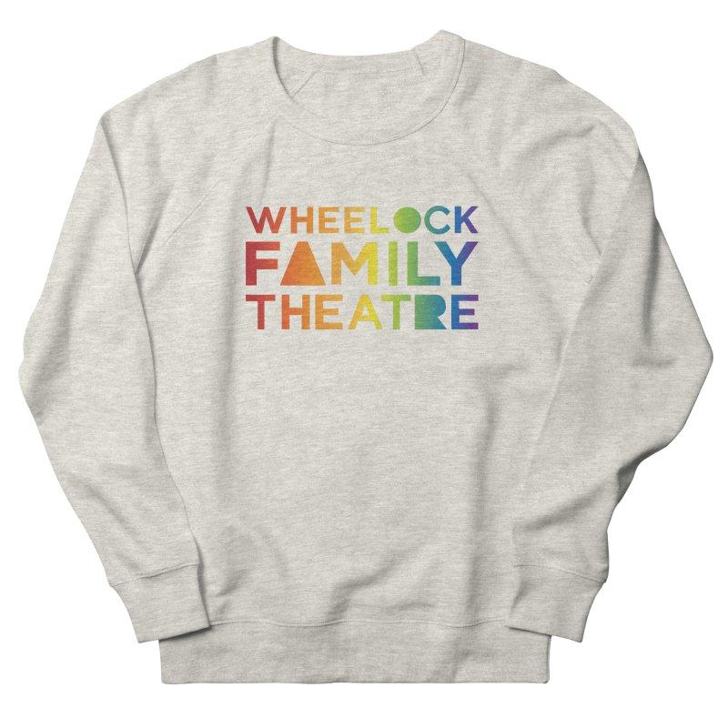 RAINBOW COLLECTION I Men's Sweatshirt by Wheelock Family Theatre Merch