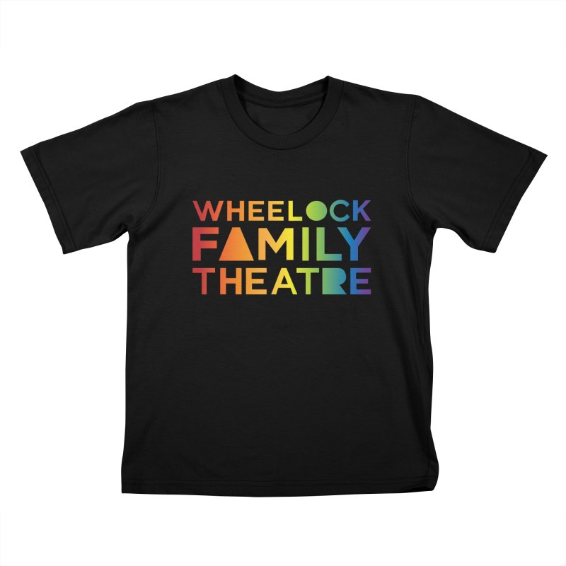RAINBOW COLLECTION I Kids T-Shirt by Wheelock Family Theatre Merch