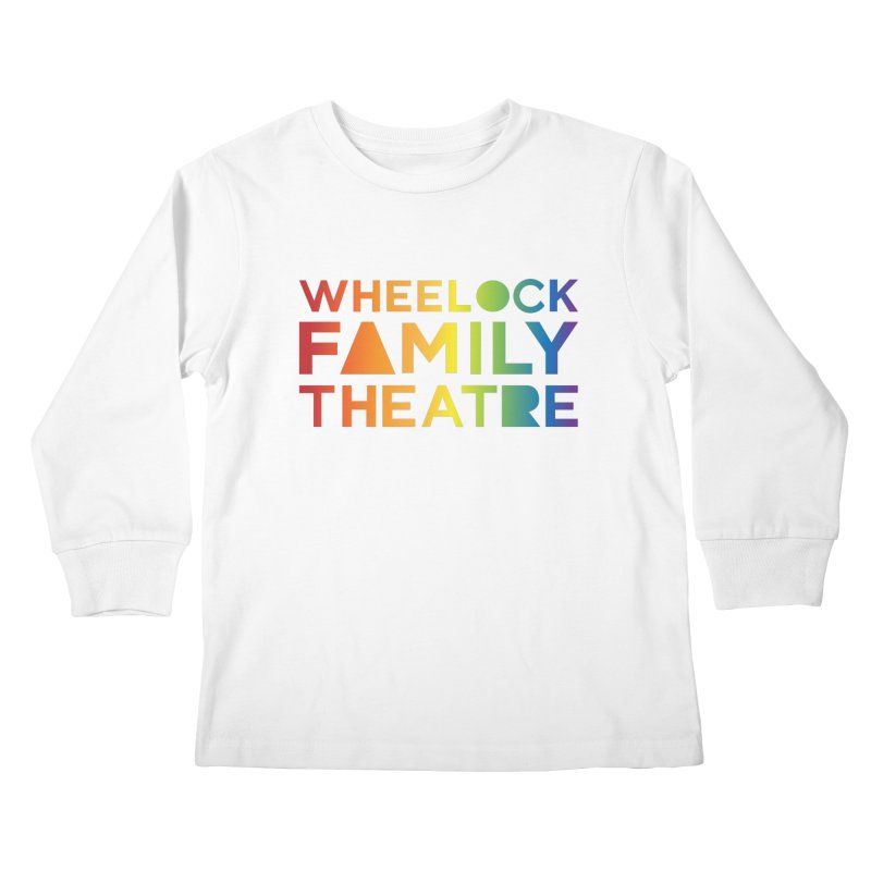 RAINBOW COLLECTION I Kids Longsleeve T-Shirt by Wheelock Family Theatre Merch