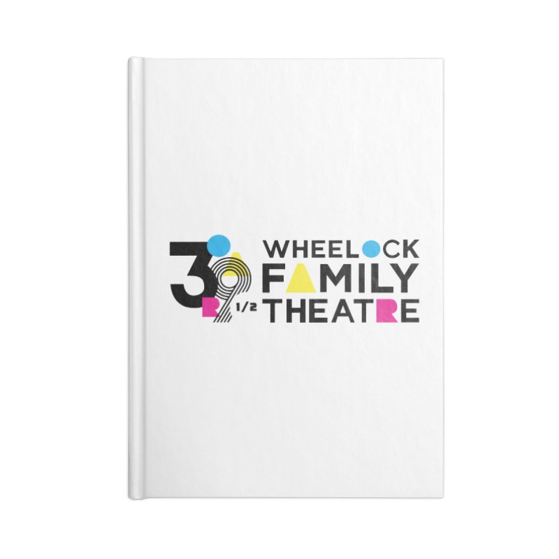 ANNIVERSARY COLLECTION Accessories Notebook by Wheelock Family Theatre Merch