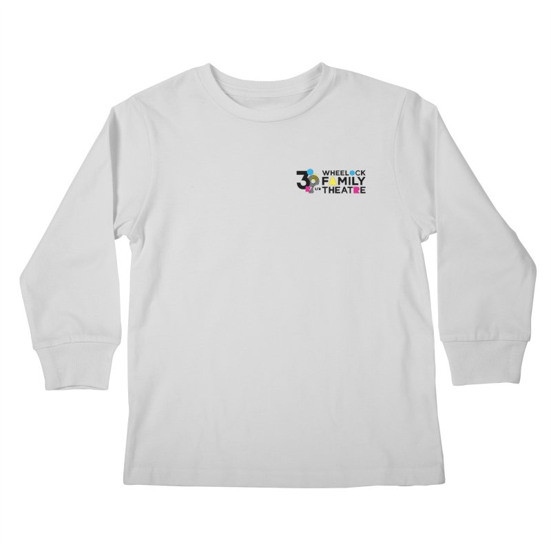 ANNIVERSARY COLLECTION Kids Longsleeve T-Shirt by Wheelock Family Theatre Merch