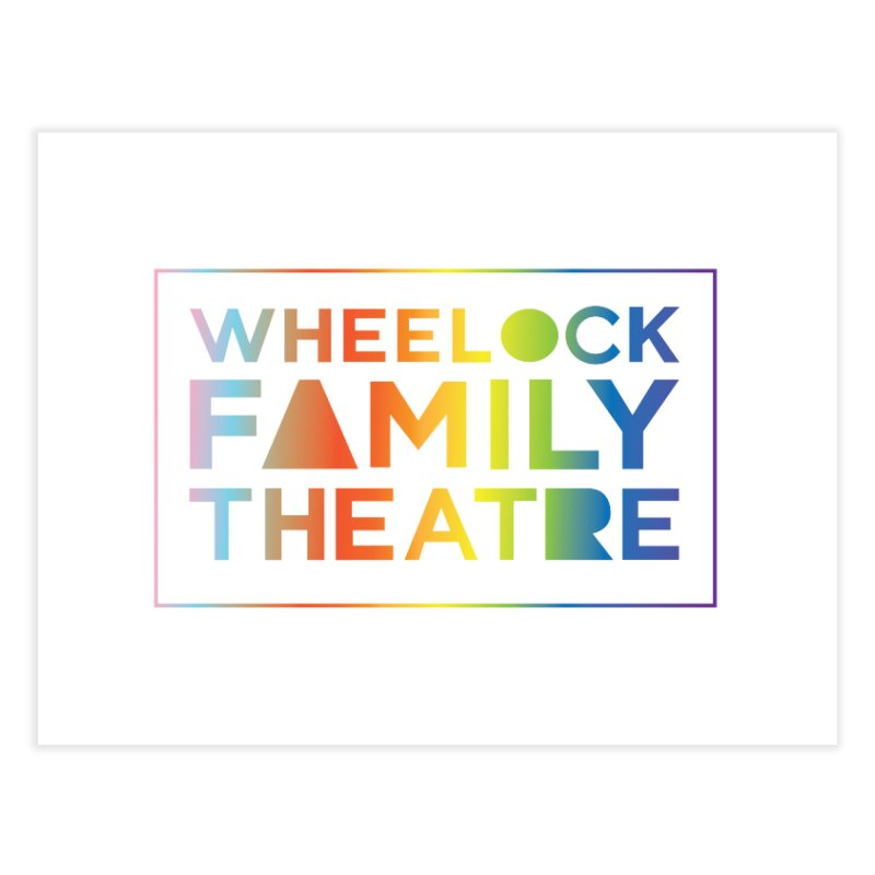 RAINBOW COLLECTION II Home Fine Art Print by Wheelock Family Theatre Merch