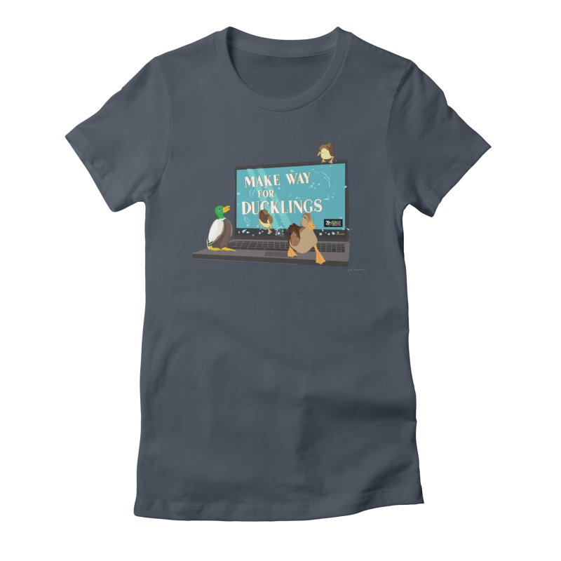 MAKE WAY FOR DUCKLINGS Women's T-Shirt by Wheelock Family Theatre Merch