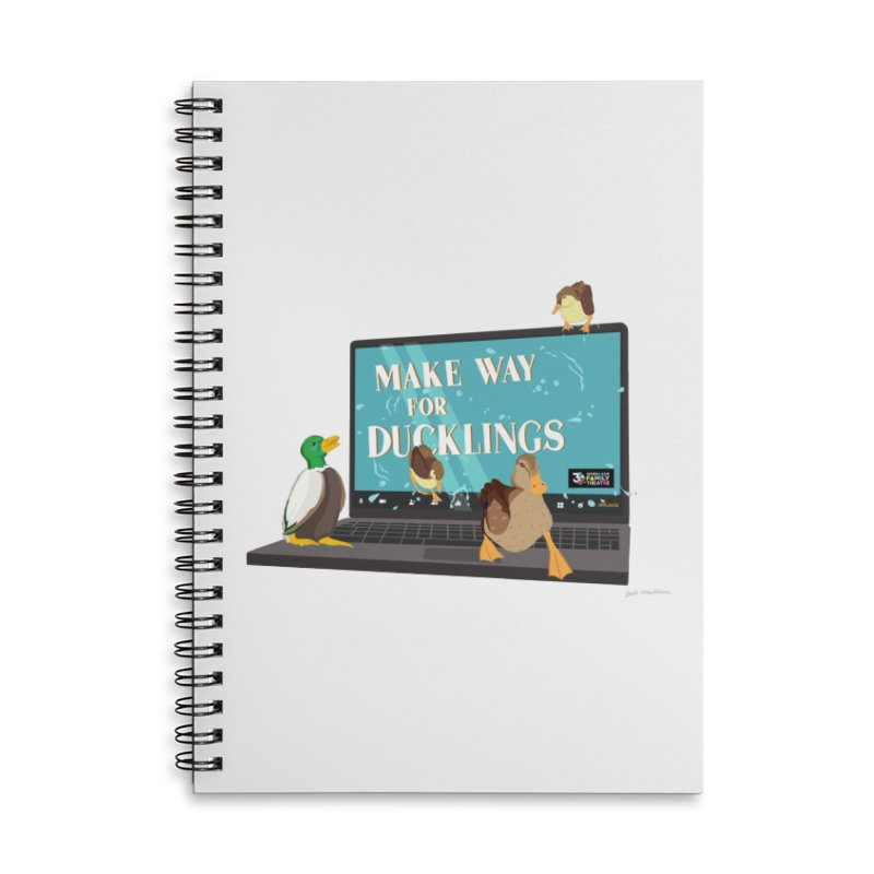 MAKE WAY FOR DUCKLINGS Accessories Notebook by Wheelock Family Theatre Merch