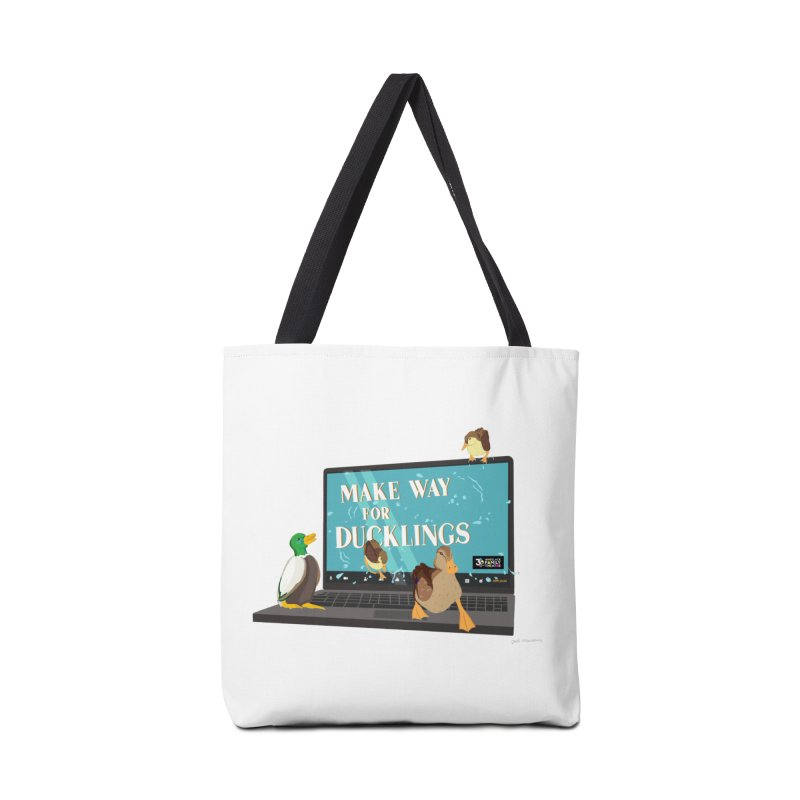 MAKE WAY FOR DUCKLINGS Accessories Bag by Wheelock Family Theatre Merch