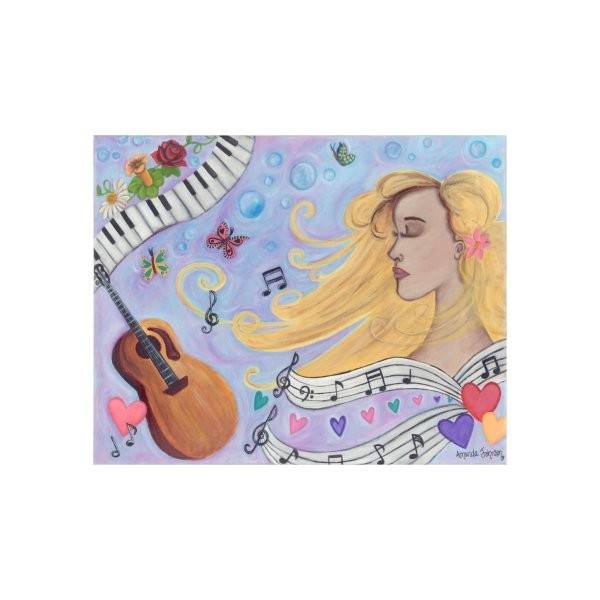 image for She Dreams in Music