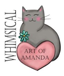 whimsicalartofamanda Logo