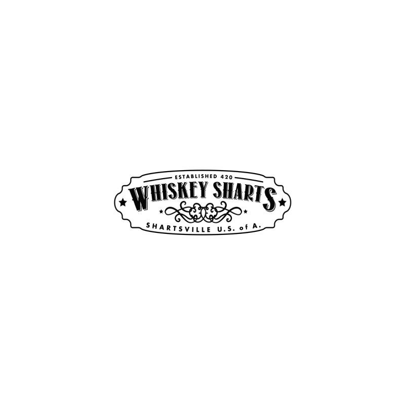 Whiskey Sharts Logo Black Clean by Grab Yer Shit N' Git