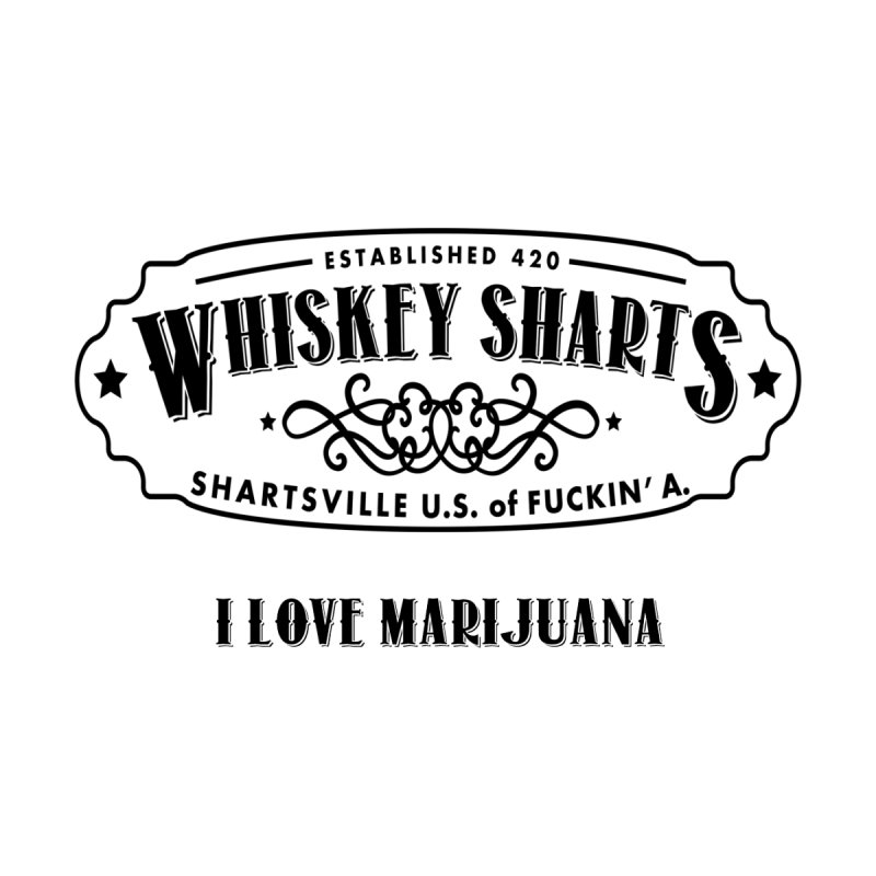 I love Marijuana Black by Grab Yer Shit N' Git