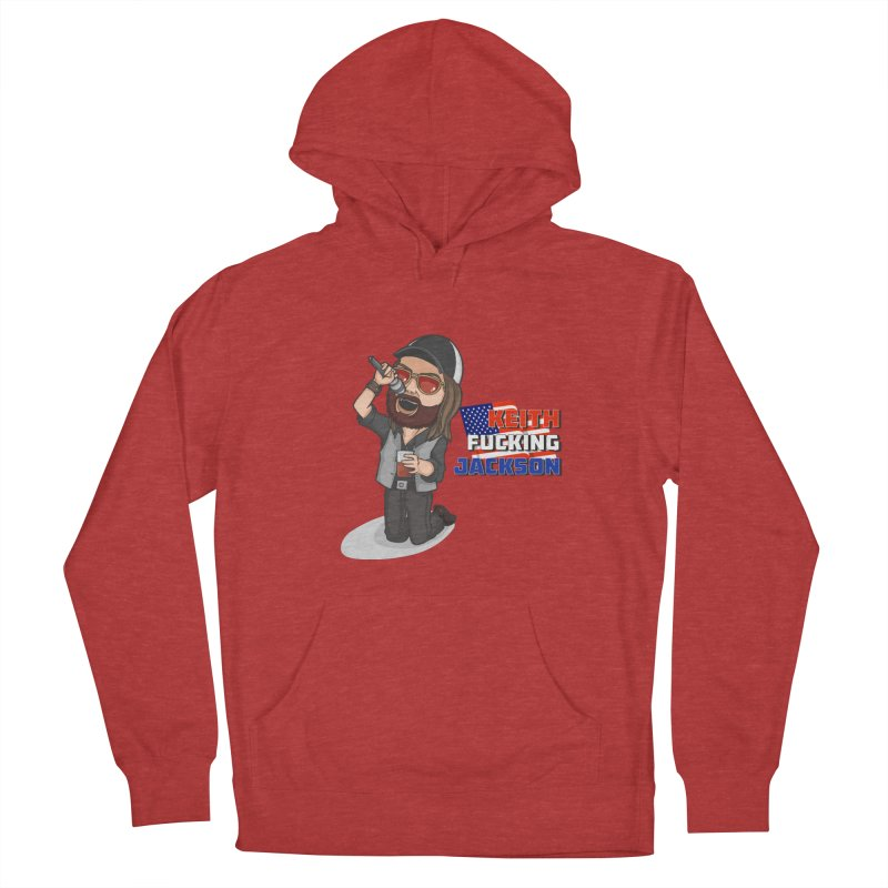 Cartoon KFJ Women's French Terry Pullover Hoody by Grab Yer Shit N' Git