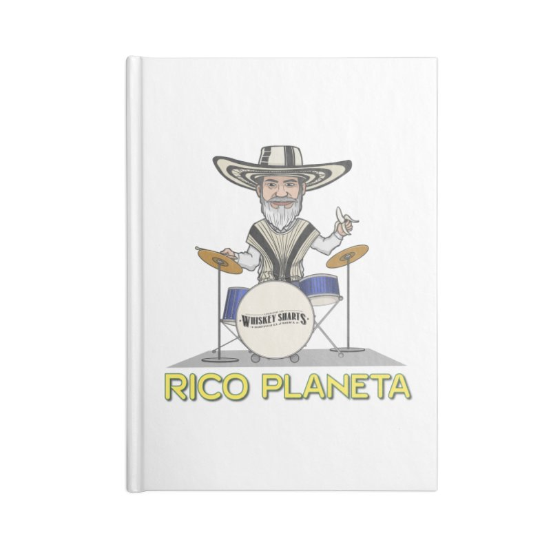 Toon Rico Accessories Lined Journal Notebook by Grab Yer Shit N' Git