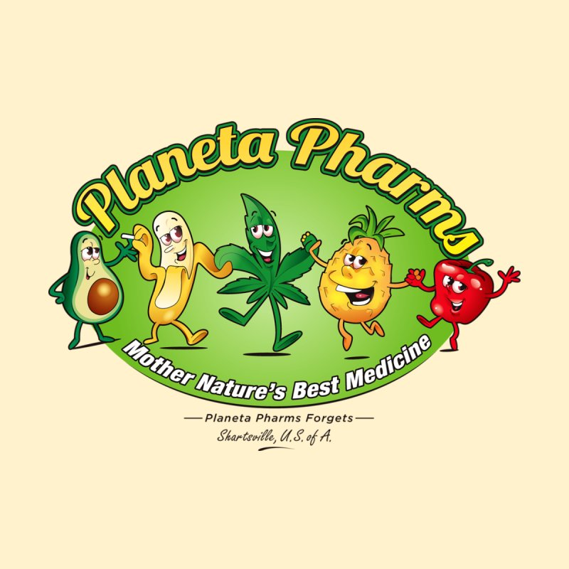 Planeta Pharms by Grab Yer Shit N' Git