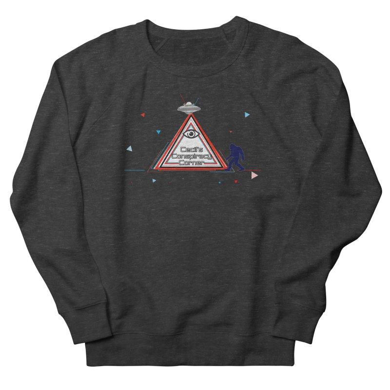 Cecil's Conspiracy Corner Women's French Terry Sweatshirt by Grab Yer Shit N' Git