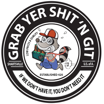 Grab Yer Shit N' Git Logo
