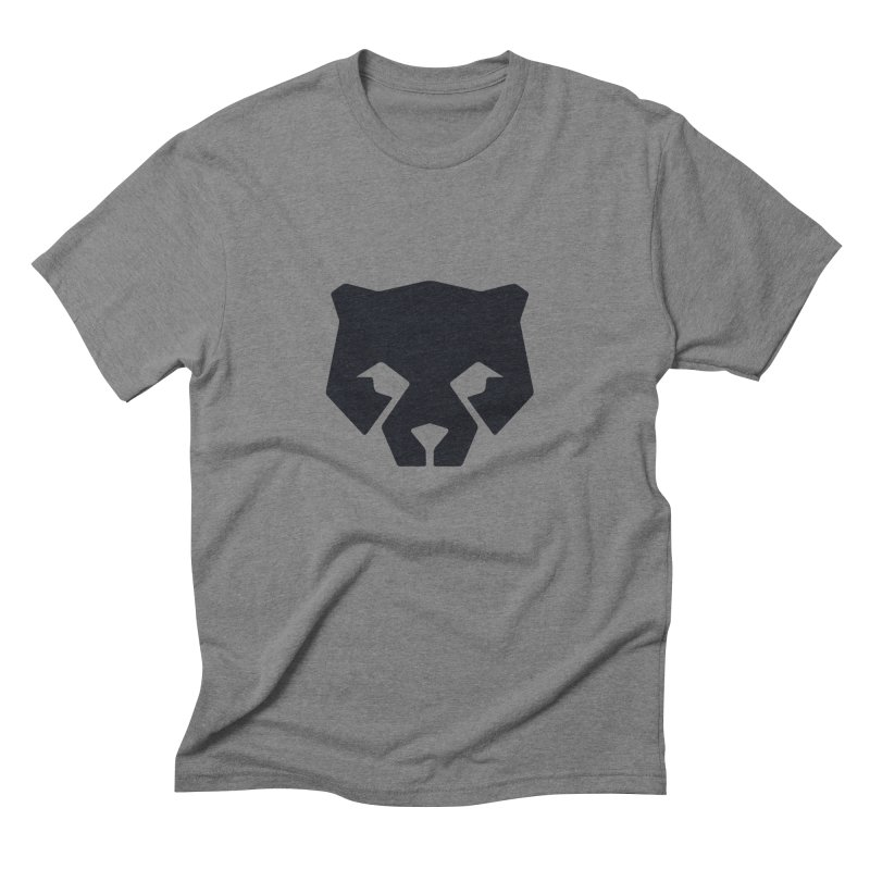Whitebear Logo Black Men's T-Shirt by whitebear