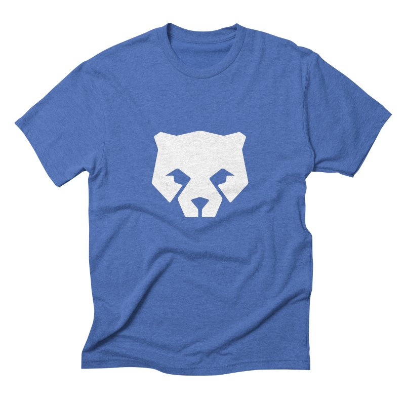 Whitebear Logo White Men's T-Shirt by whitebear