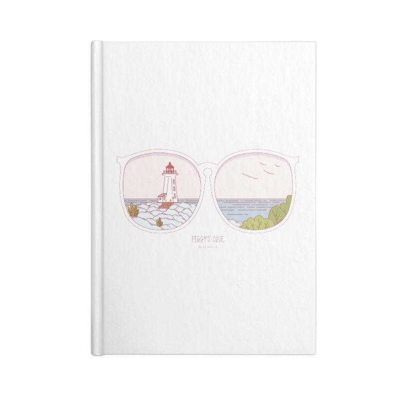 Canadian Sunnies | Peggy's Cove Accessories Blank Journal Notebook by whitechaircreative's Artist Shop