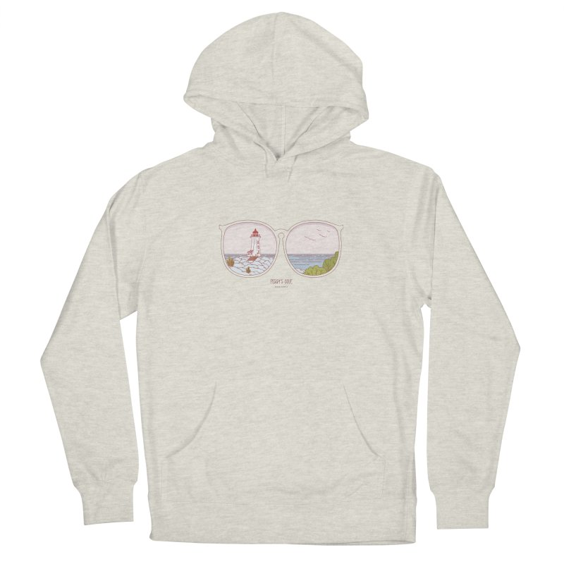 Canadian Sunnies | Peggy's Cove Men's French Terry Pullover Hoody by whitechaircreative's Artist Shop