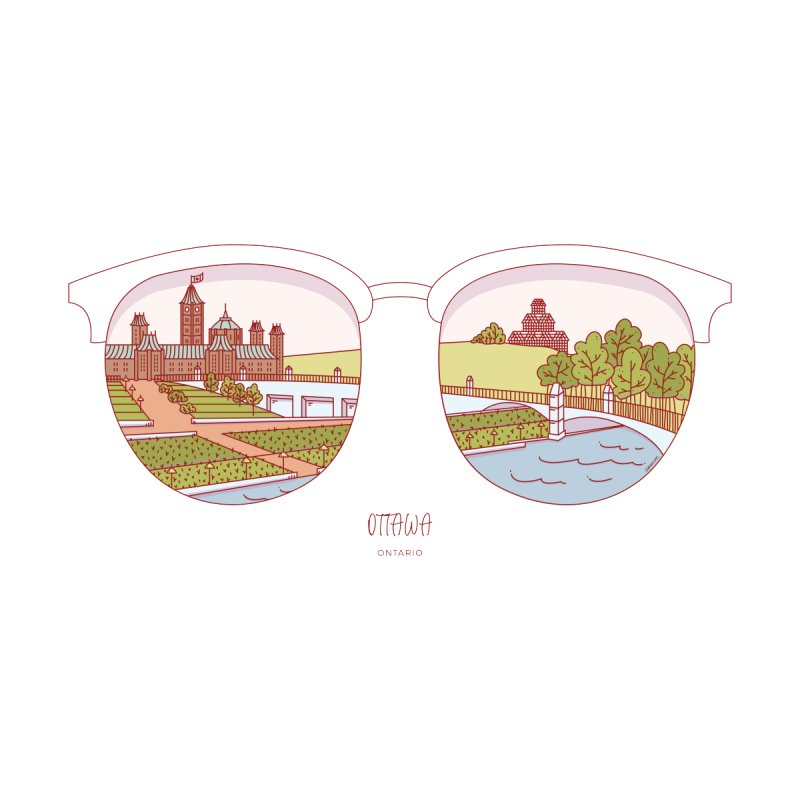 Canadian Sunnies | Ottawa by whitechaircreative's Artist Shop