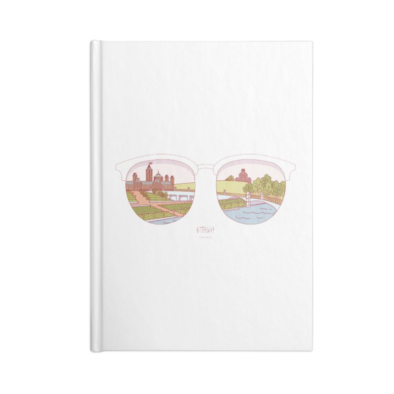 Canadian Sunnies | Ottawa Accessories Lined Journal Notebook by whitechaircreative's Artist Shop