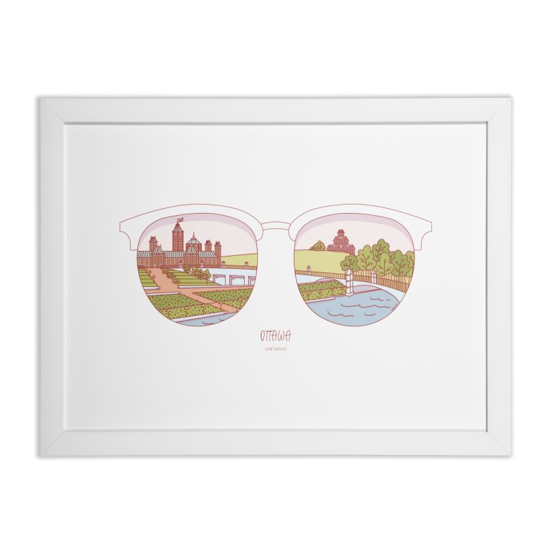 Canadian Sunnies | Ottawa Home Framed Fine Art Print by whitechaircreative's Artist Shop