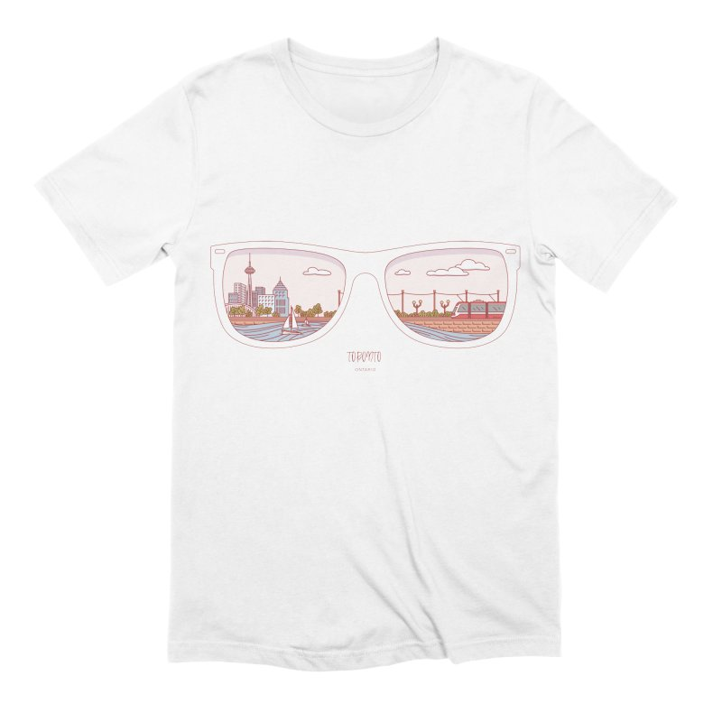 Canadian Sunnies | Toronto Men's Extra Soft T-Shirt by whitechaircreative's Artist Shop