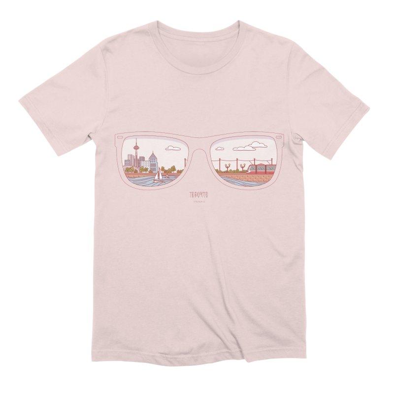 Canadian Sunnies | Toronto Men's Extra Soft T-Shirt by whitechaircreative's Artist Shop
