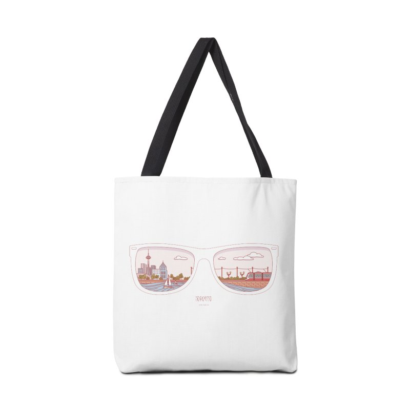 Canadian Sunnies | Toronto Accessories Tote Bag Bag by whitechaircreative's Artist Shop