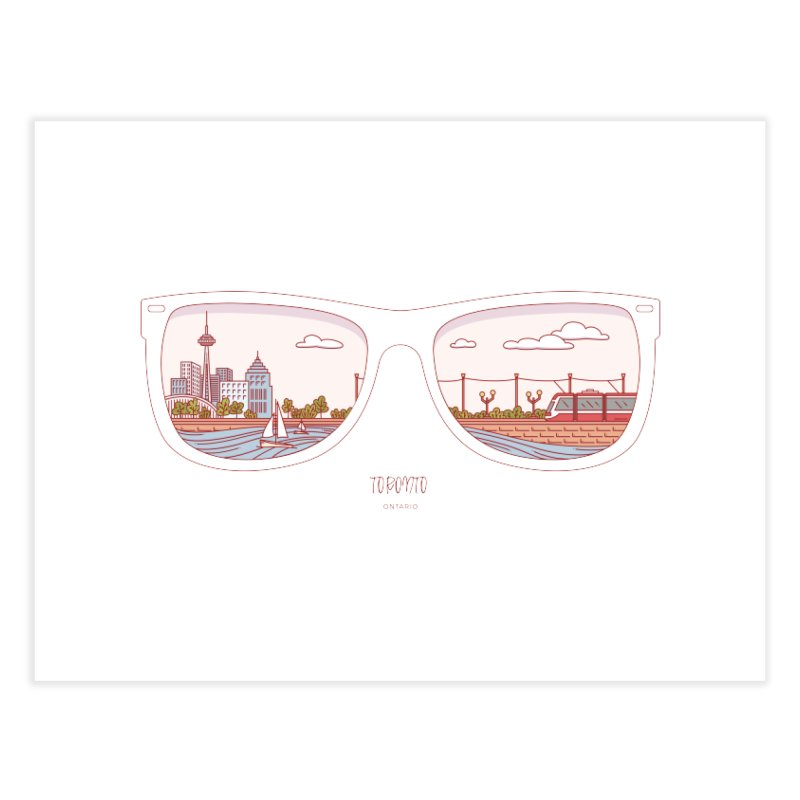 Canadian Sunnies | Toronto Home Fine Art Print by whitechaircreative's Artist Shop