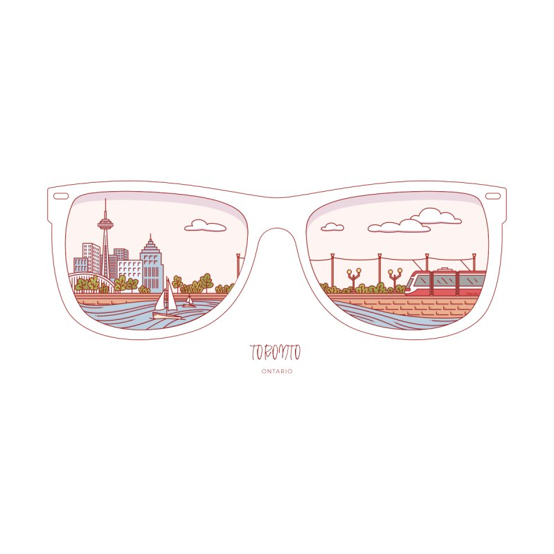Canadian Sunnies | Toronto by whitechaircreative's Artist Shop