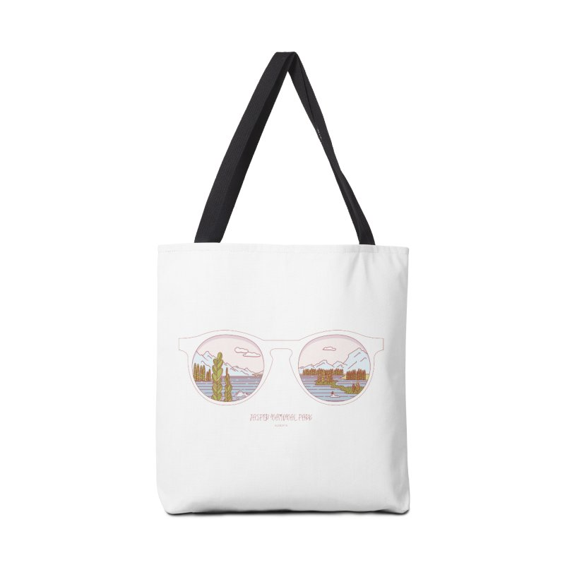 Canadian Sunnies | Jasper National Park Accessories Tote Bag Bag by whitechaircreative's Artist Shop