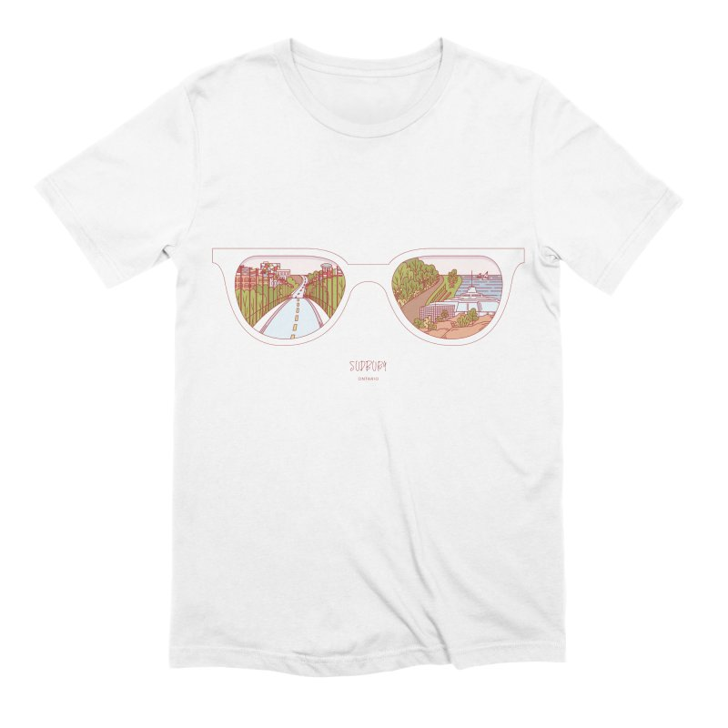 Canadian Sunnies | Sudbury Men's Extra Soft T-Shirt by whitechaircreative's Artist Shop