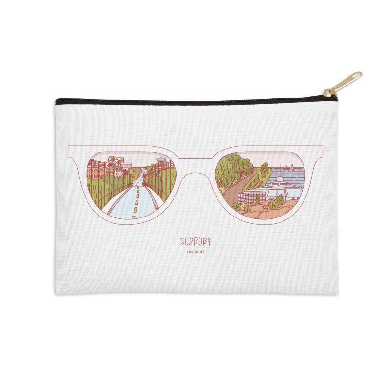 Canadian Sunnies | Sudbury Accessories Zip Pouch by whitechaircreative's Artist Shop