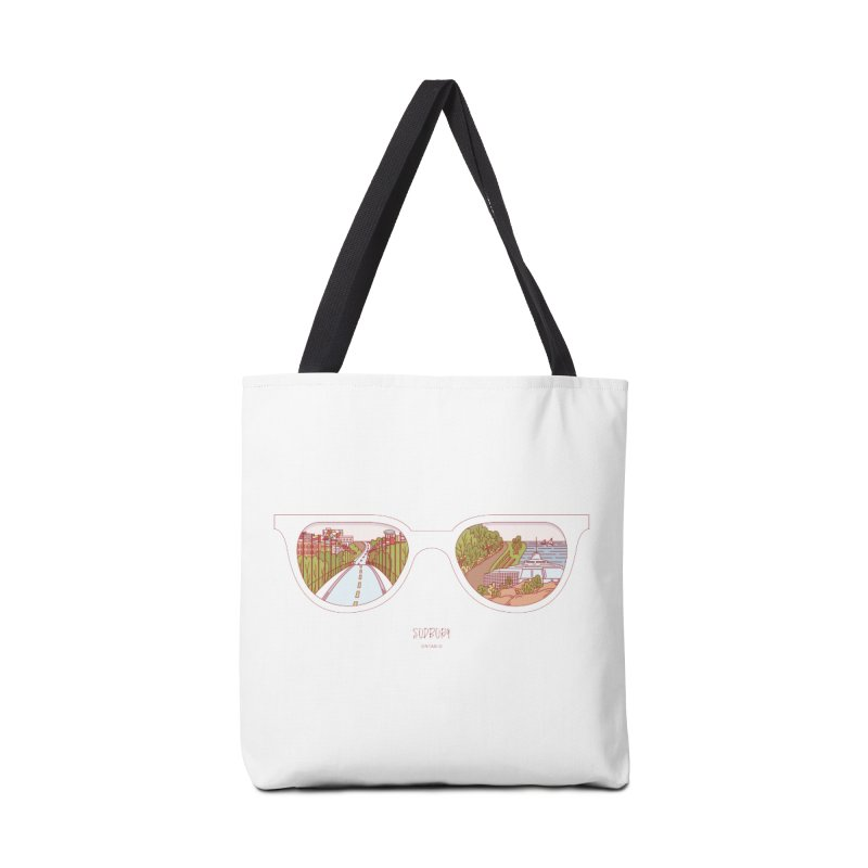 Canadian Sunnies | Sudbury Accessories Tote Bag Bag by whitechaircreative's Artist Shop