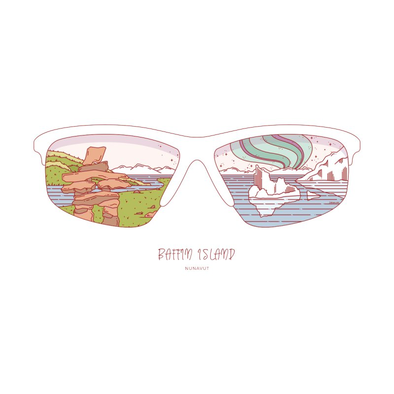 Canadian Sunnies | Baffin Island by whitechaircreative's Artist Shop