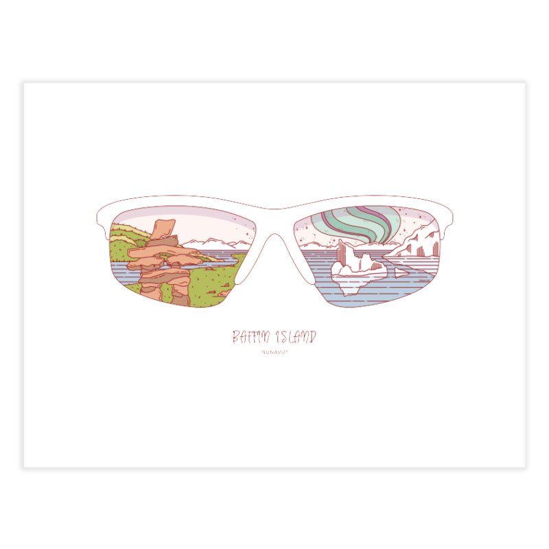 Canadian Sunnies | Baffin Island Home Fine Art Print by whitechaircreative's Artist Shop