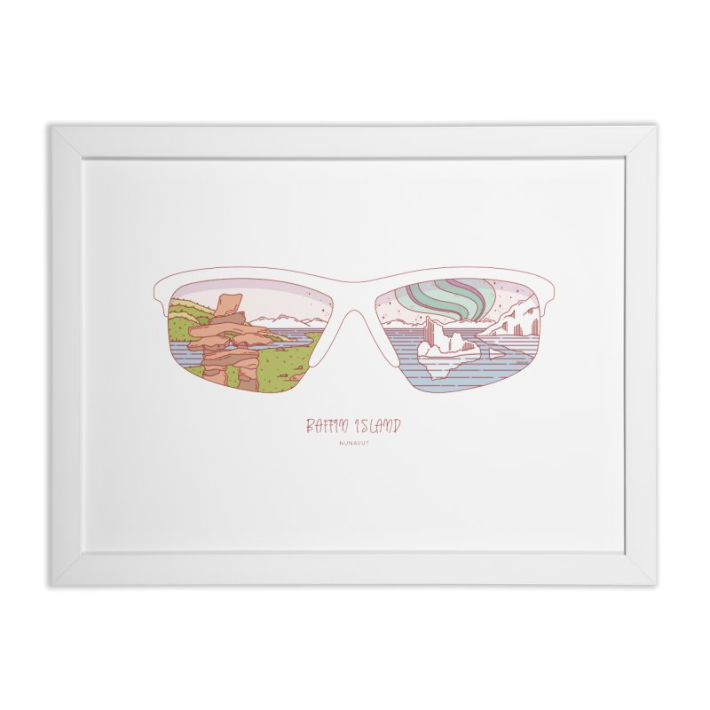 Canadian Sunnies | Baffin Island Home Framed Fine Art Print by whitechaircreative's Artist Shop