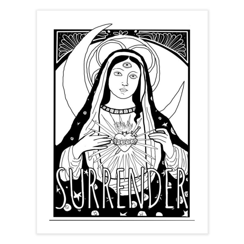 Surrender Home Fine Art Print by whiteowlmystic's Artist Shop