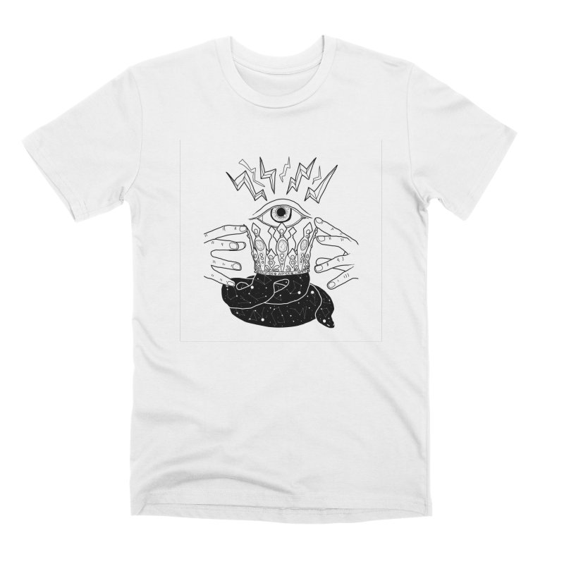 Queen of Lightning Men's T-Shirt by whiteowlmystic's Artist Shop