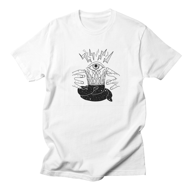 Queen of Lightning Men's T-Shirt by whiteowlmystic's Artist Shop