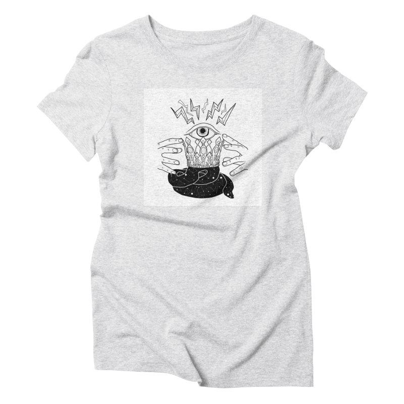 Queen of Lightning Women's T-Shirt by whiteowlmystic's Artist Shop