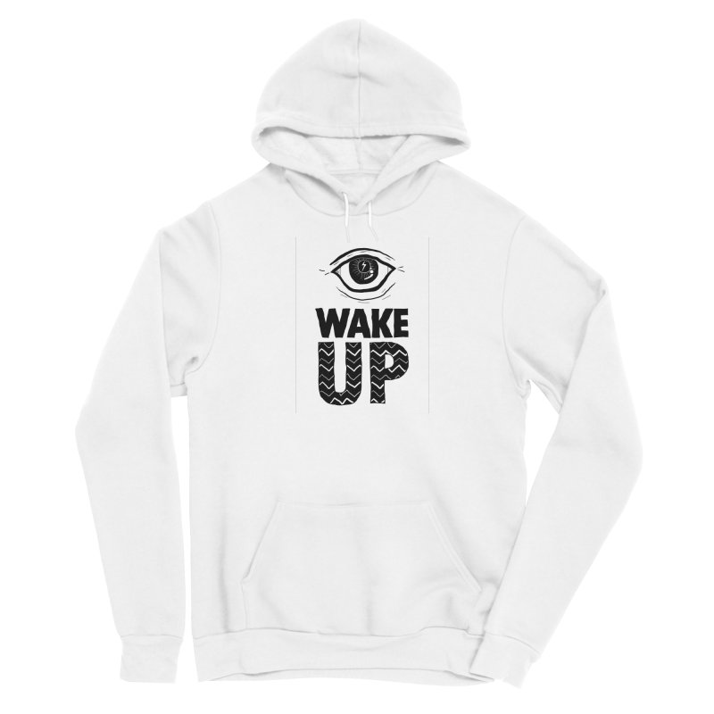 Wake Up Men's Pullover Hoody by whiteowlmystic's Artist Shop