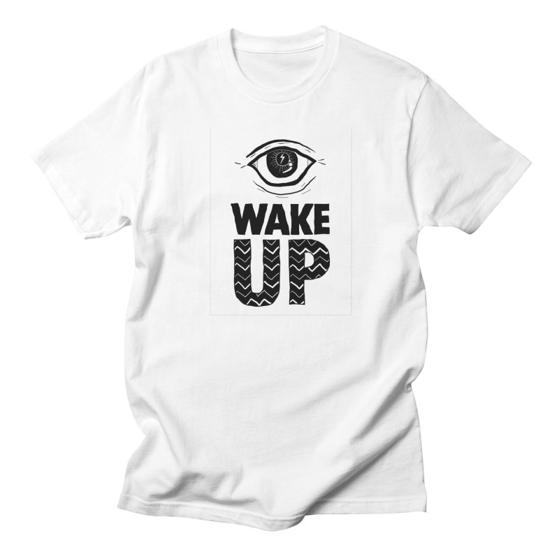 Wake Up Men's T-Shirt by whiteowlmystic's Artist Shop