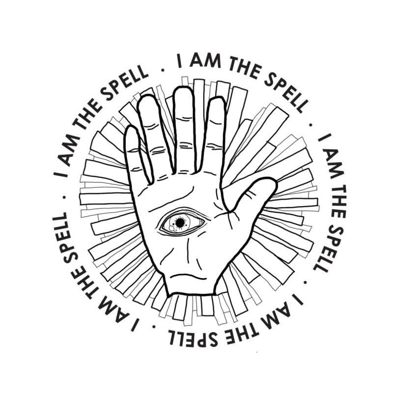 I Am the Spell Men's T-Shirt by whiteowlmystic's Artist Shop